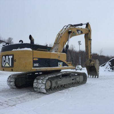 1. Pelle 345 CAT 2008